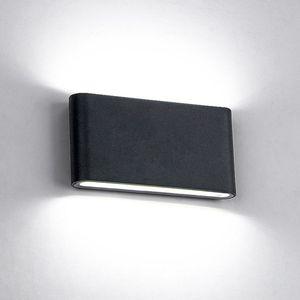 6W / 12W LED Outdoor Wall Lampes IP65 étanche mur lampe escalier intérieur à LED Lumière AC85-AC265V Corridor éclairage appliques murales de chevet