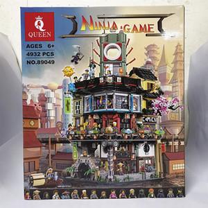 QUEEN 89049 Ninja City headquarters building blocks for children's puzzle toys