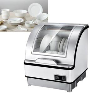 Máquina de lavaplatos eléctrica de encimera de encimera automática automática Pequeña máquina de lavaplatos automática