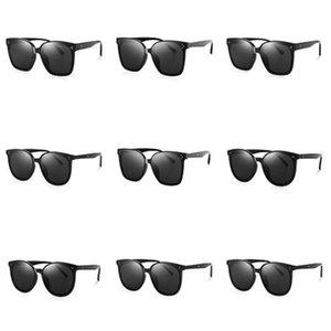 Einfache EL Gläser El Draht Mode Neon LED leuchten Shutter Shaped Glow Sun Glasses Rave-Kostüm-Party DJ Heller Sonnenbrille OOA7136 # 828