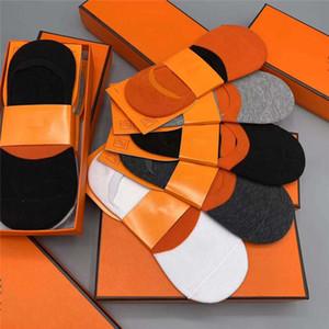 Diseñador de calcetines para hombre para mujer del calcetín impreso de diseño calcetines de punto para mujer de tendencia de la moda de ropa interior de alta calidad calcetín 5 pares con Boxs4