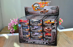 Hot Wheels Diecast alliage modèle de voiture, 1:64 Mini Pocket Toy, camion militaire, voiture de sport Hélicoptère, Pompier, Cadeaux de Noël d'anniversaire d'enfant, 01-2
