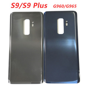 Back Battery Cover Door Rear Glass Housing Replacements For SAMSUNG Galaxy S9 G960 G960F S9 Plus G965 G965F no lens