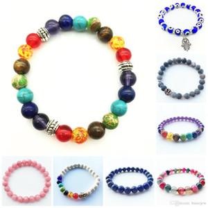 Braccialetti con ciondoli braccialetti personalizzati perline braccialetto in legno colorato perline bracciali