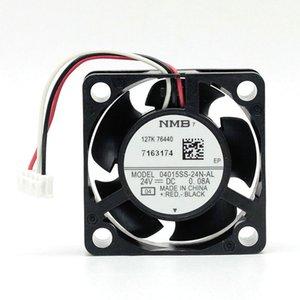 Ventilador 24V NMB 04015SS-24N-AL 4015 0.08A 4CM ventilador de refrigeração