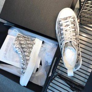 Las zapatillas de deporte Zapatos de mujer sentido técnico de envío de alta marco superior del cordón de los deportes ocasionales de la estrella del Bajo-Top clásico de la impresión lona de los hombres