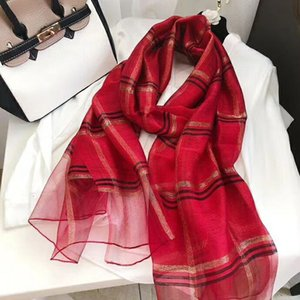 Scarf on sale 100% silk scarves are designed for both male and female famous brands. The full-length silk scarves are 180x70cm