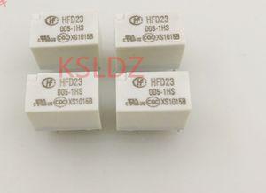 Бесплатная доставка много (5 шт. / Лот) 100% оригинальный новый HFD23-005-1HS HFD23-012-1HS HFD23-024-1HS 5PINS 5VDC 12VDC 24VDC Сигнальное реле