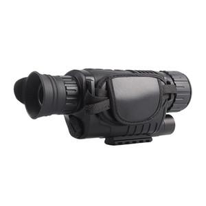 WG540 5x40 Kızılötesi Gece Görüş Kapsam NV540 HD Dijital Vision Optik Av Monoküler Tüfek Kapsam