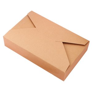 20pcs Christmas Brown Envelope Style Kraft Paper Box White Carton Cardboard Box For Candy Cookies Packaging Gift Box