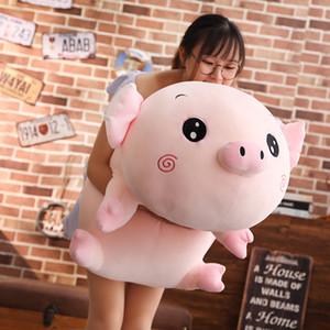 peluche morbido peluche maiale gigante simpatico cartone animato piggy bambola regalo dell'ammortizzatore del cuscino di sonno deco 35inch 90 centimetri DY50831