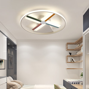 Creative bedroom aluminum ceiling lamp atmosphere Nordic postmodern personality led home lamps led ceiling light RW201