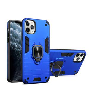 für iPhone 11 Pro XS Max XR 7 8 Ring Halter-Telefon-Kasten Samsung S20 Ultra-LG Q70 HUAWEI Y9 2019 Halter Taschen