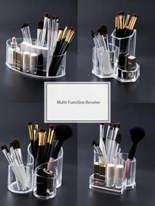 Kozmetik Fırçalar Tutucu Masa Organizatör Makyaj Makyaj Araçları Kutular Kalem Kalem Holde Saklama Kutusu