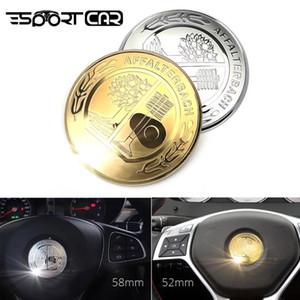 자동차 배지 엔진 스타트 스톱 멀티미디어 마우스 버튼 커버 엠블럼 스티커가 메르세데스 벤츠의 AMG W205 C의 E의 CLA 트림