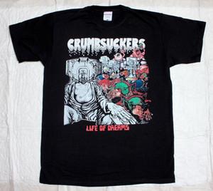 CRUMBSUCKERS LIFE OF DREAMS'86 CROSSOVER PRO-PAIN GANG GREEN NEW BLACK T-Shirt aus 100% Baumwolle T-Shirt-Oberseiten Großhandel T-Shirt
