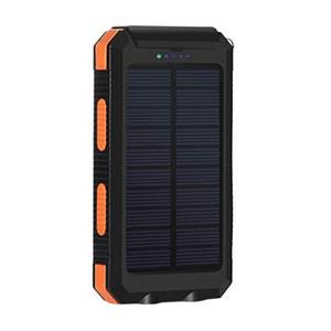 6000mAh Dual USB Solar Power Bank Внешний светодиодный фонарик Удобный двойной выход интерфейс питания банка. аккумулятор