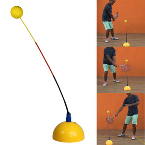 Portable Tennis Trainer Practice Rebound Training Tool Professional Stereotype Swing Ball Machine Beginners Self-study Accessory Indoor Usin