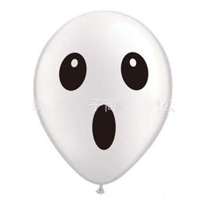 Venda quente Açúcar Crânio Balões Flor Impressão Balões De Látex Decoração de Balão de Halloween Crianças Fantasma Festa de Aniversário Popular 0 55cyH1