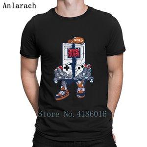 Geek Zombie T Shirt Websites Customized Loose Pattern Custom Tshirt Short Sleeve Clothes Spring Autumn Super