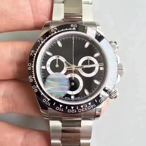 Reloj para hombre de moda de alta calidad serie TONA M116519 relojes automáticos de acero inoxidable con cara de oro simple
