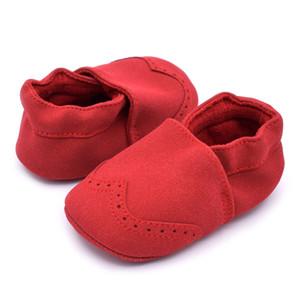 Bebek Ayakkabı Yenidoğan Deri Terlik Çocuklar Sonbahar Moccasins Nubuk Ayakkabı Yürüyor Çocuk Yumuşak Sole İlk Walkers