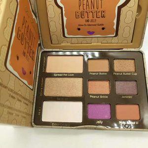 Brand Too Peanut Butter Eyeshadow 9 colores Paleta de sombras de ojos Fachada Highlighter Contour Palette Shimmer Matte Eyes Makeup