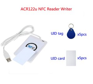ACR122U RFID NFC Copier Reader Writer Cloner copy device with 5pcs UID Cards + 5pcs UID tags + SDK + Copy Clone Software، min: 1pcs