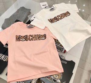 camisas de la princesa camiseta de las muchachas de Harajuku Kawaii chica tapa de la manera ocasional de la historieta camisetas de la muchacha niños cuello redondo manga corta