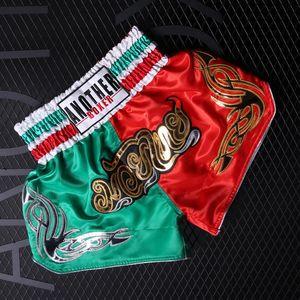 Новый стиль бой шорты грэпплинг короткий кикбоксинг клетка боевые шорты Муай Тай борьба Санда тренировочная одежда