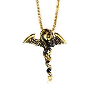 поставки Китай Европа Америка 316l нержавеющей стали ювелирные изделия ожерелье мужские ювелирные изделия титана стали дракона играть шарики Trendy Hip Hop ожерелье