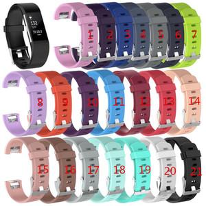 Fitbit Charge 2 손목 웨어러블 실리콘 스트랩 밴드 Fitbit Charge Watch 클래식 교체 실리콘 팔찌 스트랩 밴드 (트래커 없음)