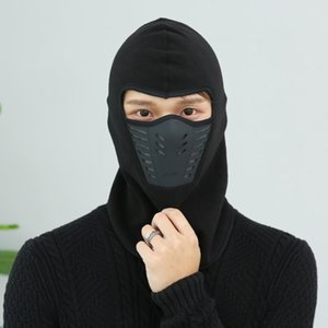 9colors !! Ветрозащитный Лыжная маска для лица Зима Мотоцикл шеи Грелка Tactical Гуда для женщин Мужчины молодежи Сноуборд Велоспорт Hat на открытом воздухе шлем