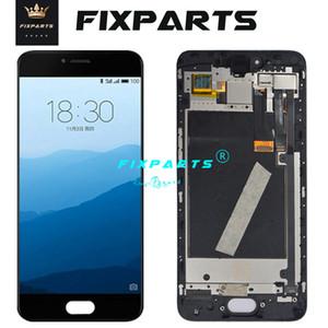 """5.2"""" AMOLED LCD Meizu pro 6s Pro6 s display LCD con touch Digitizer vetro gruppo telaio parti di ricambio + strumenti gratuiti"""