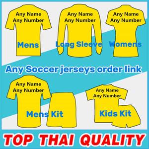 Clubes de futebol Selecção Nacional Jersey 18/19 Futebol jerseys camisas dos miúdos homem mulher kit Soccer Jersey tracksuits Jacket camisola ordem de ligação