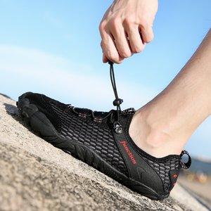 Yüzme Sneakers Doğa Sporları Dalış Su ayakkabı erkekler Kadınlar Plajı sörf Terlik Hızlı Kurutma Memba Braathable Ayakkabı Mesh