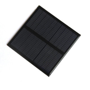 BUHESHUI 0.7W 5V Mini Solar Panel Polycrystalline Solar Cell Small Power 3.7V Battery Charger Led Light Study 70*70MM