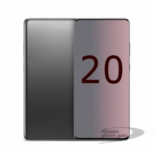 Goophone 6.7inch ES20 + 20plus 20U ES10 + 6.3inch 1GB RAM 4GB / 8GB ROM 3G WCDMA göster 4G LTE WIFI, Bluetooth Kilitli Cep telefonu