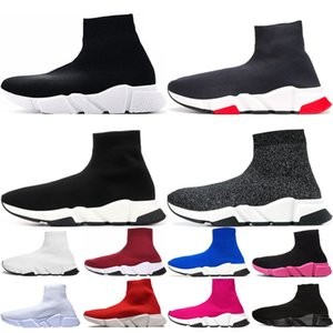 Balenciaga sock speed trainer shoes Saldi esclusivi uk GMT 98 Sport Scarpe da corsa per uomo Gundam Tour Giallo-blu Triple Black Gym Red South Beach Runners Traspirante