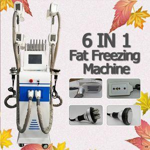 2019 новый 4 Handpieces Cryolipolysis Fat Freeze Cryotherapy Criolipolisis машина Cryo Body для похудения оборудование CE / DHL