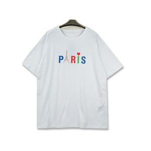 Homens do estilista T Shirt New Arrival Paris Homens Mulheres alta Letter qualidade de impressão Casual manga curta Moda Mens Tees