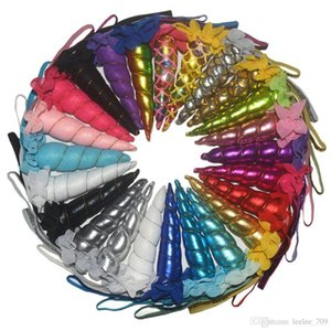 Glitter Unicorn Horns Headband para meninas e crianças de feltro acolchoado Unicorn Headband Acessórios cabelo DIY Parte Unicorn grátis