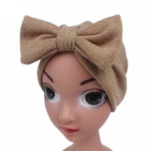Children Baby Girls Boho Hat Beanie Scarf Turban Head Wrap Cap Hair Band Accessories Headwear Hair Accessories Suit 0-24M