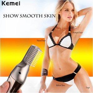 Kemei 570A All-in-1 Schabmaschine Haarschneider Bart Trimer für Männer wiederaufladbare Gesicht Null Haarschneider