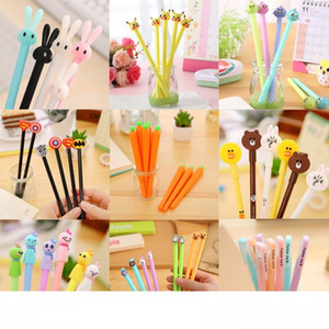 Все виды мультфильм Ballpiont Pen моды Мультфильм ручки свадебного подарка промотирования милый творческий школьные принадлежности Kawaii Student Gift Канцелярский набор