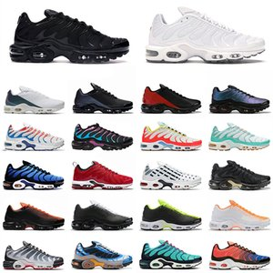 2020 tn plus se Running Shoes Men Women Throwback future triple black white Hyper Crimson Chaussures Athletic Sports Sneakers 40-46