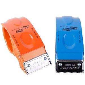 PS8060 Taper Cutter trasparente nastro adesivo Dispenser Scuola Desktop Blu Washi Holder Nastro Adesivo Supplies Dispenser per ufficio