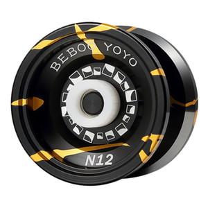 Beboyoyo Metal Йойо Professional Йойо Set Me + перчатки N12 Yo-Yo Металл Йойо Классические игрушки Подарок настоящему T200116