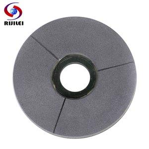 RIJILEI 5-10 polegadas Black Diamond moagem disco 125-250mm BUFF Superfície de mármore Polimento Pad Granite Resina Polishing Disc BG02