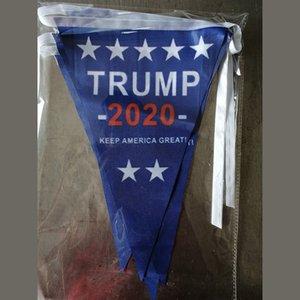 2020 Trump Üçgen Bayrak Banner ABD Başkanı Seçim Trump Destekçi çekin Bayrak Makyaj Amerika Büyük Yine Bayrak Ana Parti M.Ö. VT1099 Malzemeleri